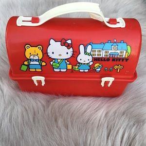 Lunchbox vintage sanrio rare iconic Hello Kitty